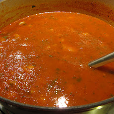 Spiked and Spicy Tomato Soup