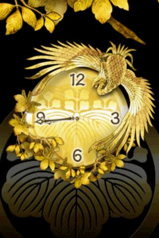 Japanese Clock ~Phoenix Charm