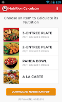Screenshot of Panda Express Chinese Kitchen