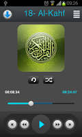 Screenshot of Holy Quran - Abo Bkr Al-Shatri