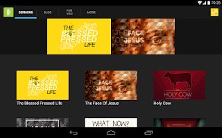 Screenshot of Echo Church