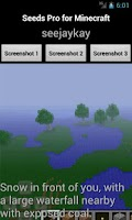 Screenshot of Seeds PRO for Minecraft