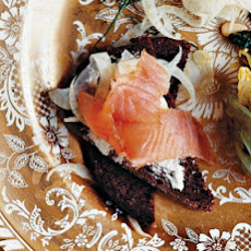 Smoked Salmon Platter with Fennel Salad