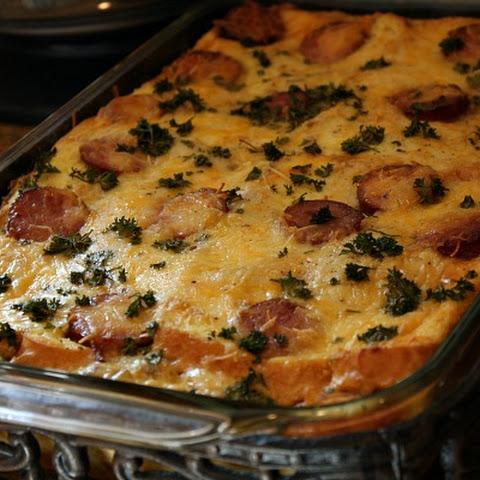 Egg Mushroom Kielbasa Bake Recipes   Yummly