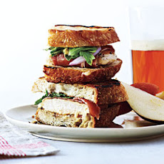 Grilled Ham, Chicken, and Gruyère Sandwiches