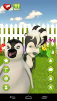 Screenshot of Talking Aryanna Skunk