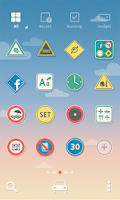 Screenshot of Drive Safe dodol theme