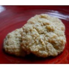 White Chocolate and Coconut Cookies
