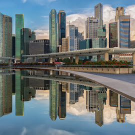 CBD Reflection by Lb Chong Jacobs - Buildings & Architecture Office Buildings & Hotels