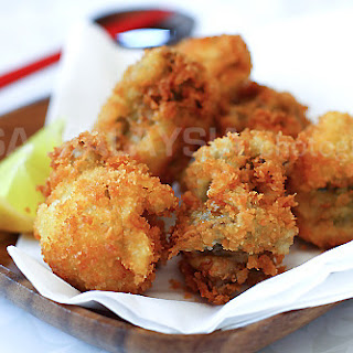 Fried Oysters with Panko (Kaki Furai/Kaki Fry)