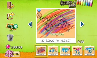 Screenshot of CrayonCrayon, Dino