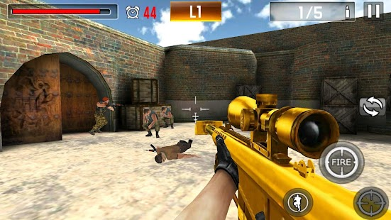 Game Shoot War:Professional Striker APK for Windows Phone