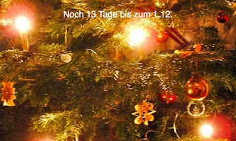 Screenshot of Advent calendar with Xmassongs