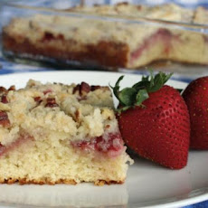 Strawberry Coffee Cake