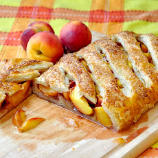 Shortcut Summer Peach Strudel