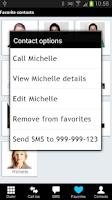 Screenshot of Fast Dialer