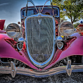 Claremore Auto Show by Ron Meyers - Transportation Automobiles