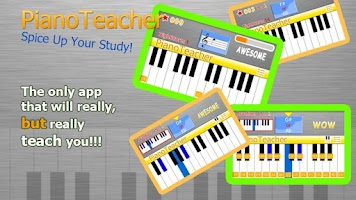 Screenshot of PianoTeacher Free Learn Chords