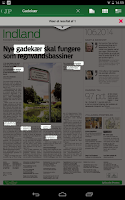 Screenshot of Morgenavisen Jyllands-Posten