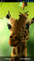 Screenshot of Giraffe HD Parallax LWP Free