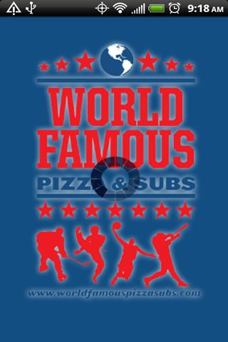 World Famous Pizza Subs