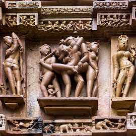 Khajuraho by Amit Aggarwal - Buildings & Architecture Statues & Monuments ( mp, khajuraho temples, india )