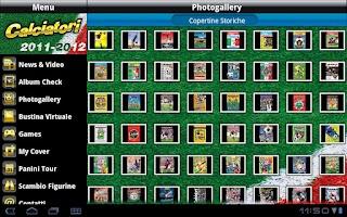 Screenshot of iCalciatori HD
