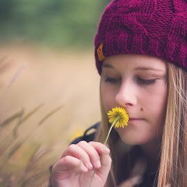 Enchanted Summer Afternoon by Philip N Carmen Peter - People Fine Art ( girl, fine art, enchanted, summer, nz, portrait )