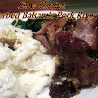 Slow-Cooker Herbed Balsamic Pork Roast