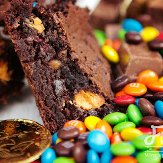 Buried Treasure Brownies