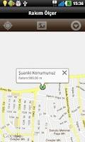 Screenshot of Rakım Ölçer