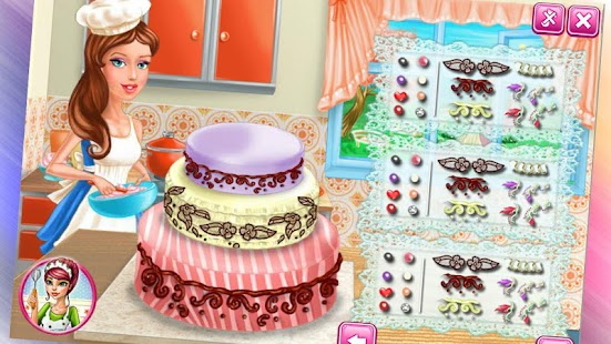 Girls Wedding Cake - screenshot