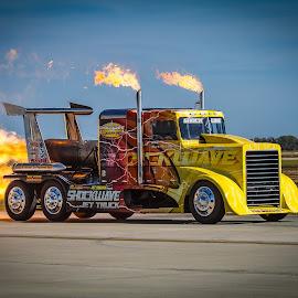 Shockwave by Ron Meyers - Transportation Automobiles
