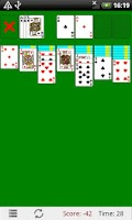 Screenshot of Classic Solitaire