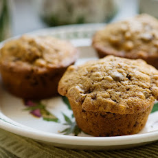 Coffee Walnut Chocolate Chip Muffins