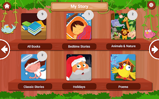 Screenshot of MangoReader - Children's books