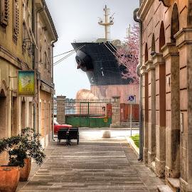by Dragan Klapčić - City,  Street & Park  Street Scenes