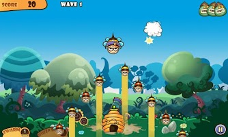 Screenshot of Honey Battle - Bears vs Bees
