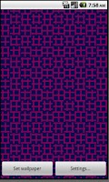 Screenshot of Op Art Live Wallpaper