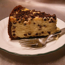London Chocolate Chip Cheesecake