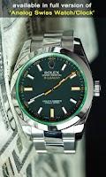 Screenshot of Rolex Watch Live Wallpaper