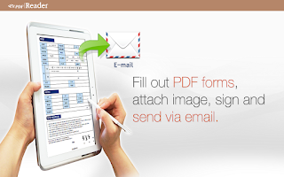 Screenshot of ezPDF Reader PDF Annotate Form