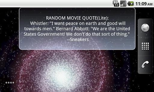Random Movie Quotes Lite