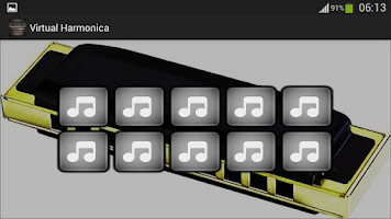 Screenshot of Virtual Harmonica