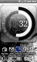 Screenshot of Conky Clock - Clock Widget