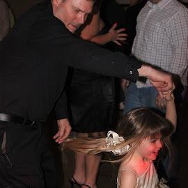 Love by Taryn Gillespie - Wedding Reception ( tarynchantelphotography, dancing, girl, grandpa, wedding, dance, young,  )