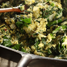 Swiss Chard Scramble