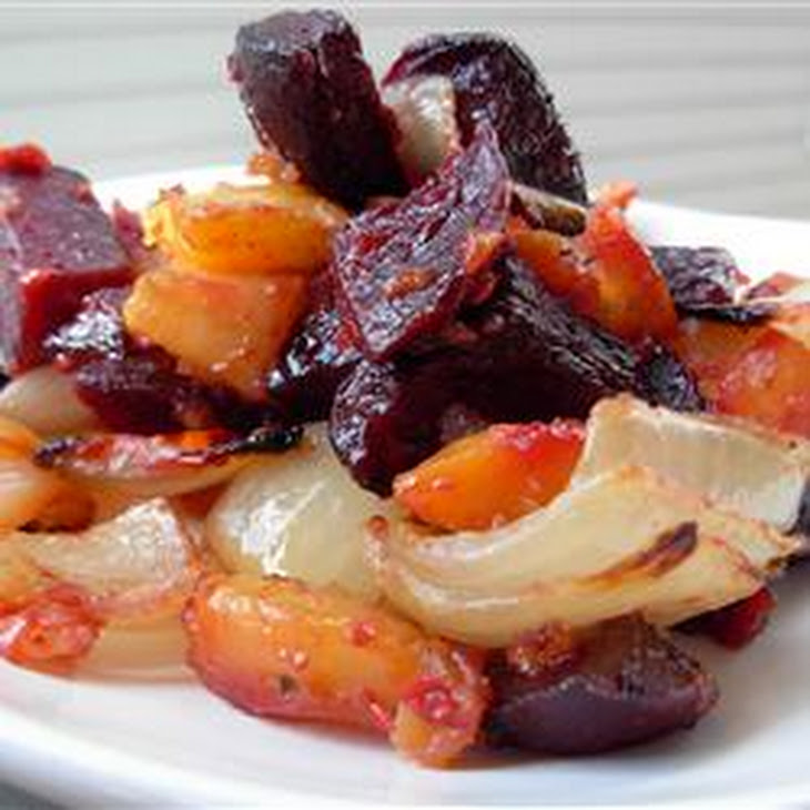 Roasted Beets 'n' Sweets