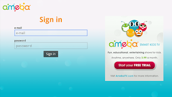 Screenshot of Ameba - Smart Kids TV