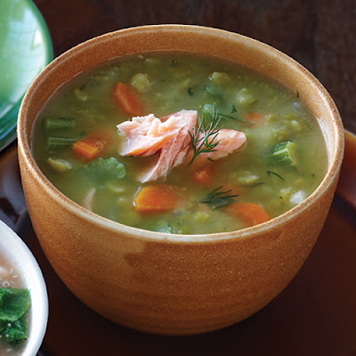 10 best salmon fish soup recipes yummly for Fish soup recipes